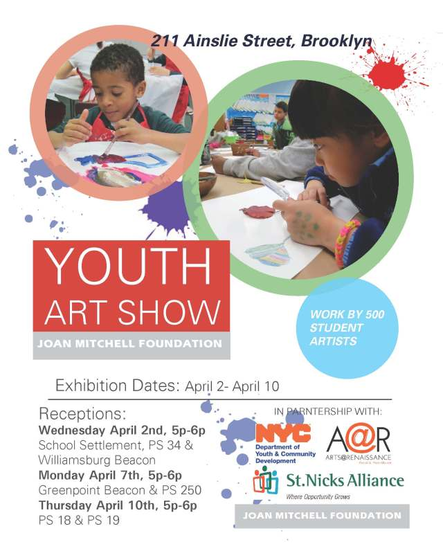 Youth Art Show Flier
